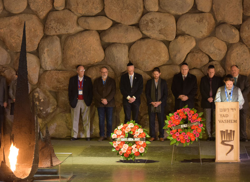 Founded in 2006, CFYV partners with the ICEJ to educate Christians about the universal lessons of the Holocaust. CFYV mobilizes Christians from various countries to become active in promoting Holocaust awareness and fighting modern-day antisemitism.