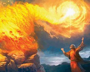 ICEJ: Elijah Calls Down Fire from Heaven