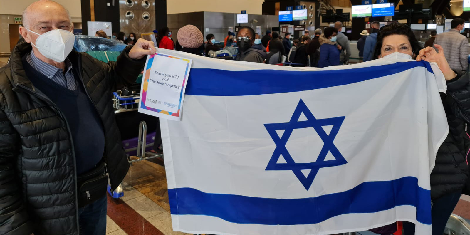 ICEJ Aliyah: South African couple make Aliyah