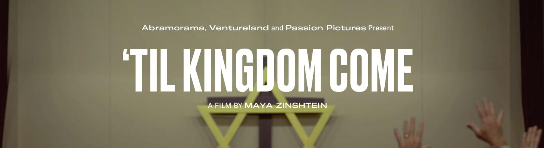 ICEJ: 'Til Kingdom Come