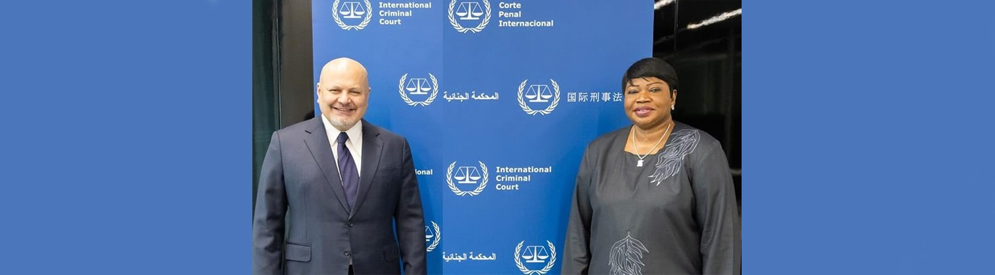 ICEJ: Karim Khan and Fatou Bensouda