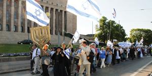 ICEJ: Rally over Gaza Flotilla