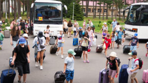 ICEJ sponsored busses for the summer camps in Belarus